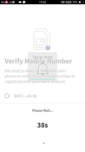 bhim upi app verification