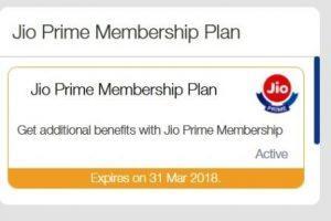 Customer Care: Jio Prime/ Summer Surprise Recharge Failed