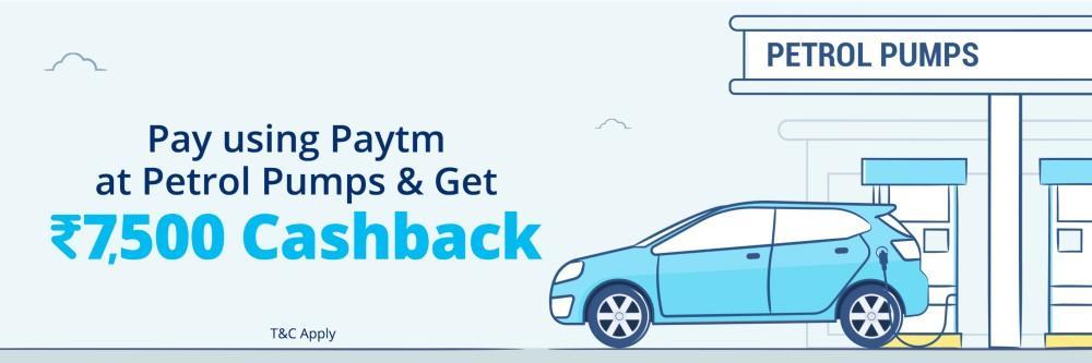 petrol cashback paytm
