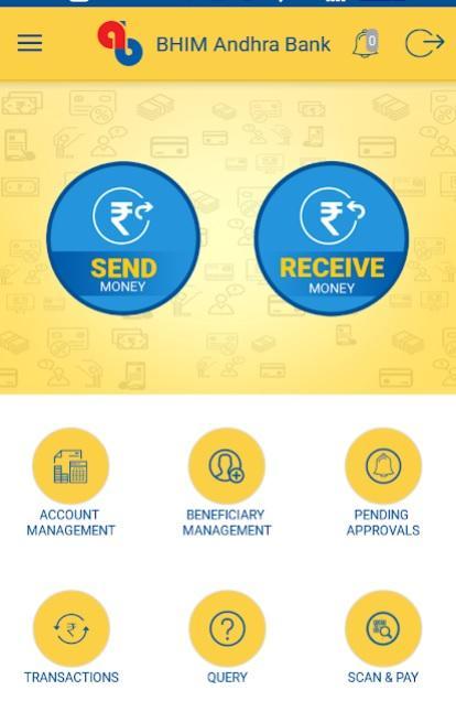 bhim andhra bank one upi app