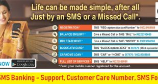 sbi sms banking app complaint