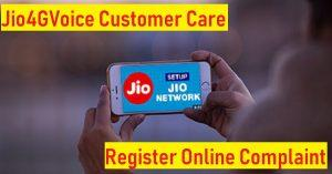 jio4gvoice helpline support