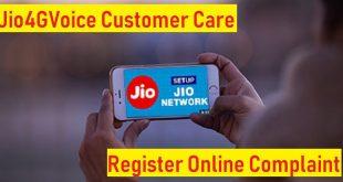 jio4gvoice helpline support