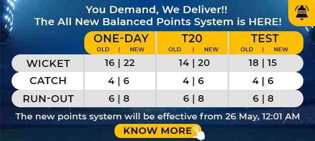 newpointsystem myteam11
