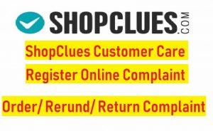 ShopClues Customer Support