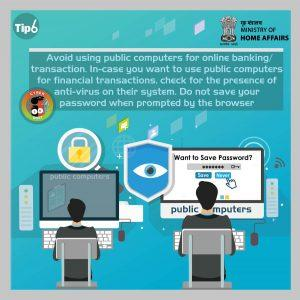 Cyber Safety Crime Tip 6