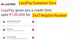 lazy pay customer care support
