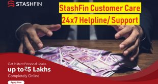 stashfin customer care