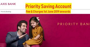 axis bank priority saving account charges