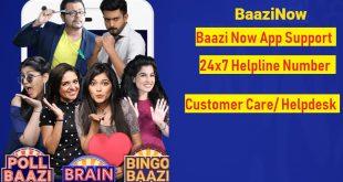 baazi now customer care