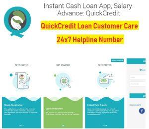 quick credit loan customer care