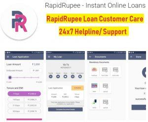 rapidrupee loan customer care